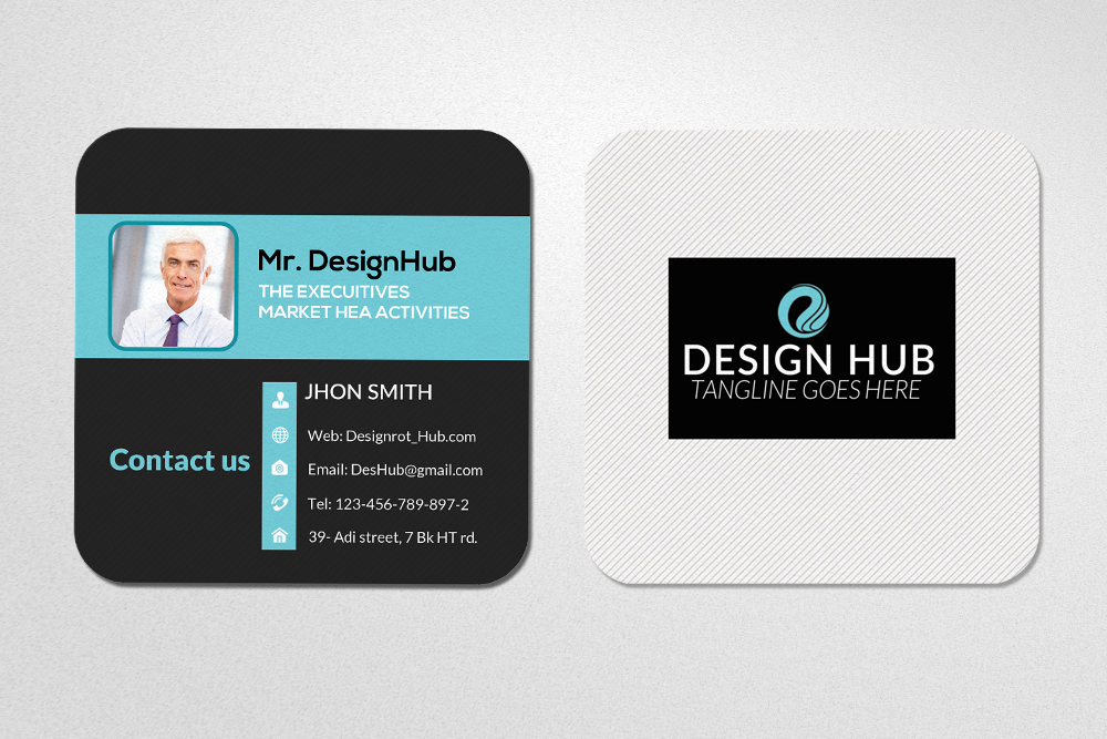 Square Social Mini Cards example image 3