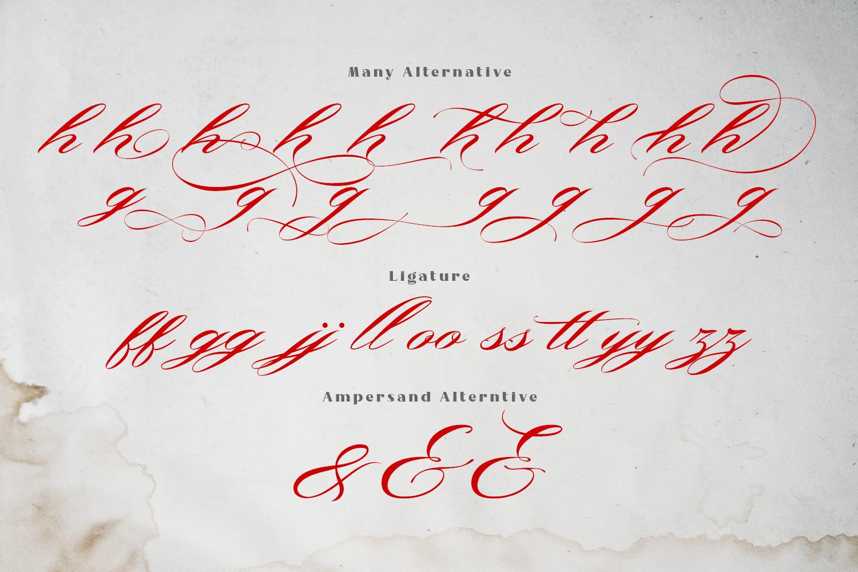 Bonthing Calligraphy example image 3