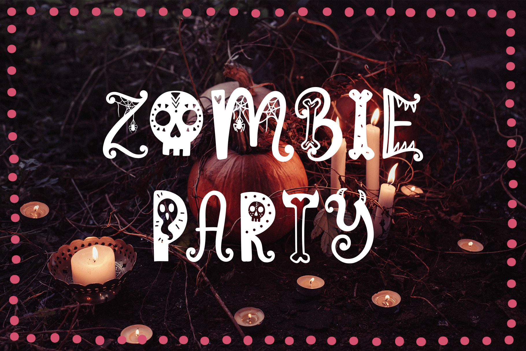 Funny Halloween Font example image 6