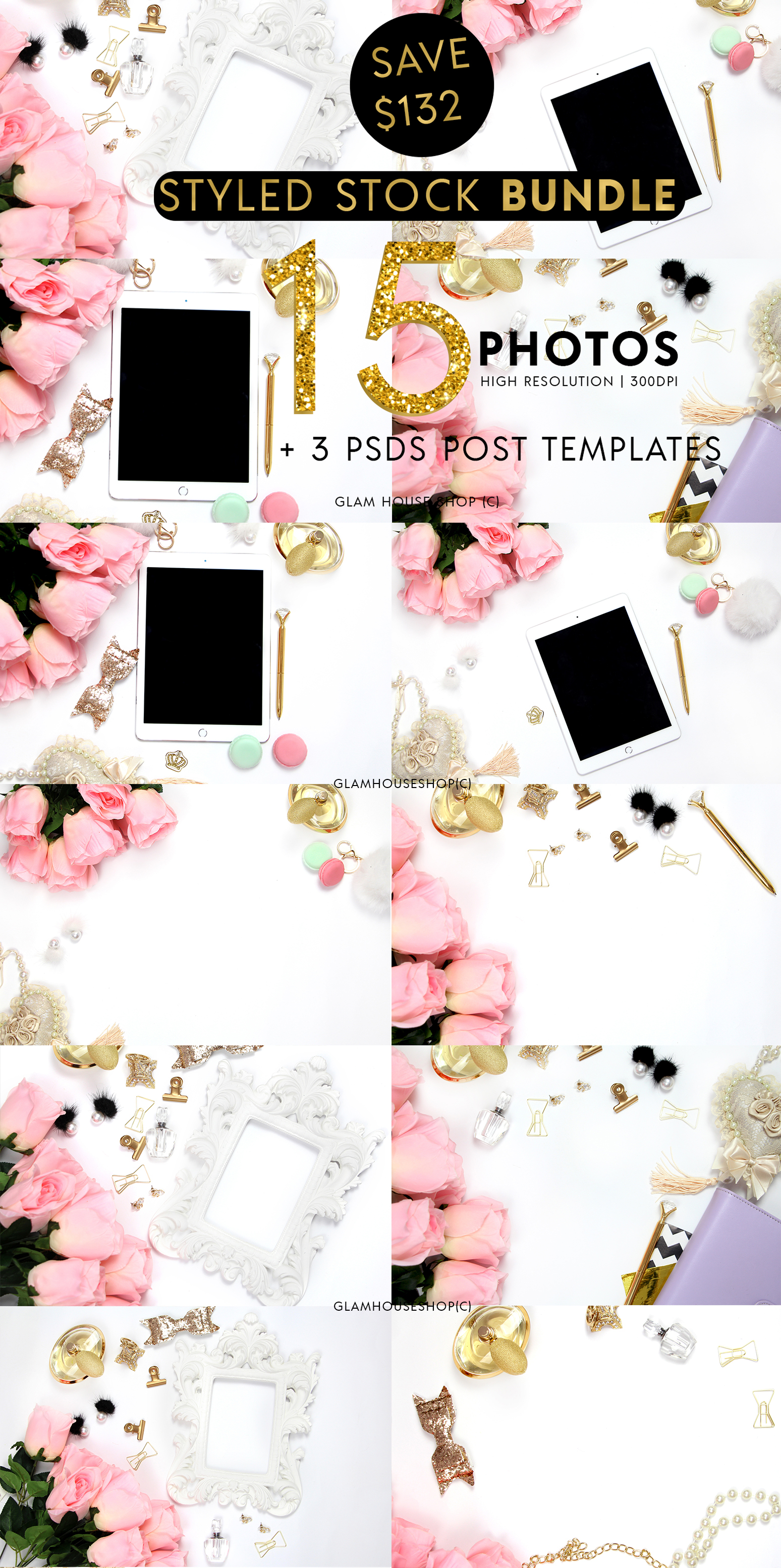 Chic Collection Styled Stock Photo Bundle example image 1