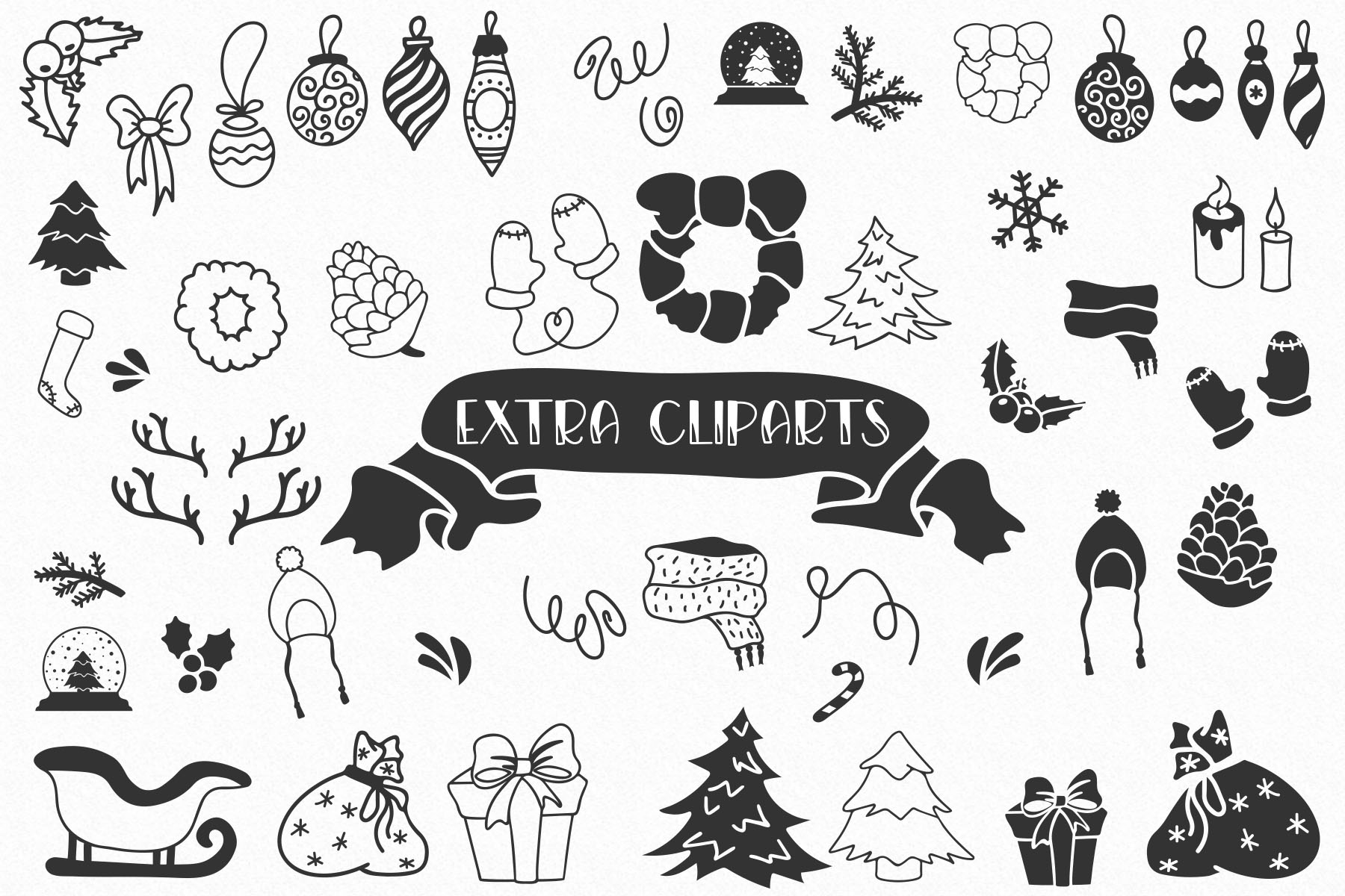 Canday - Festive Font with Extras example image 3