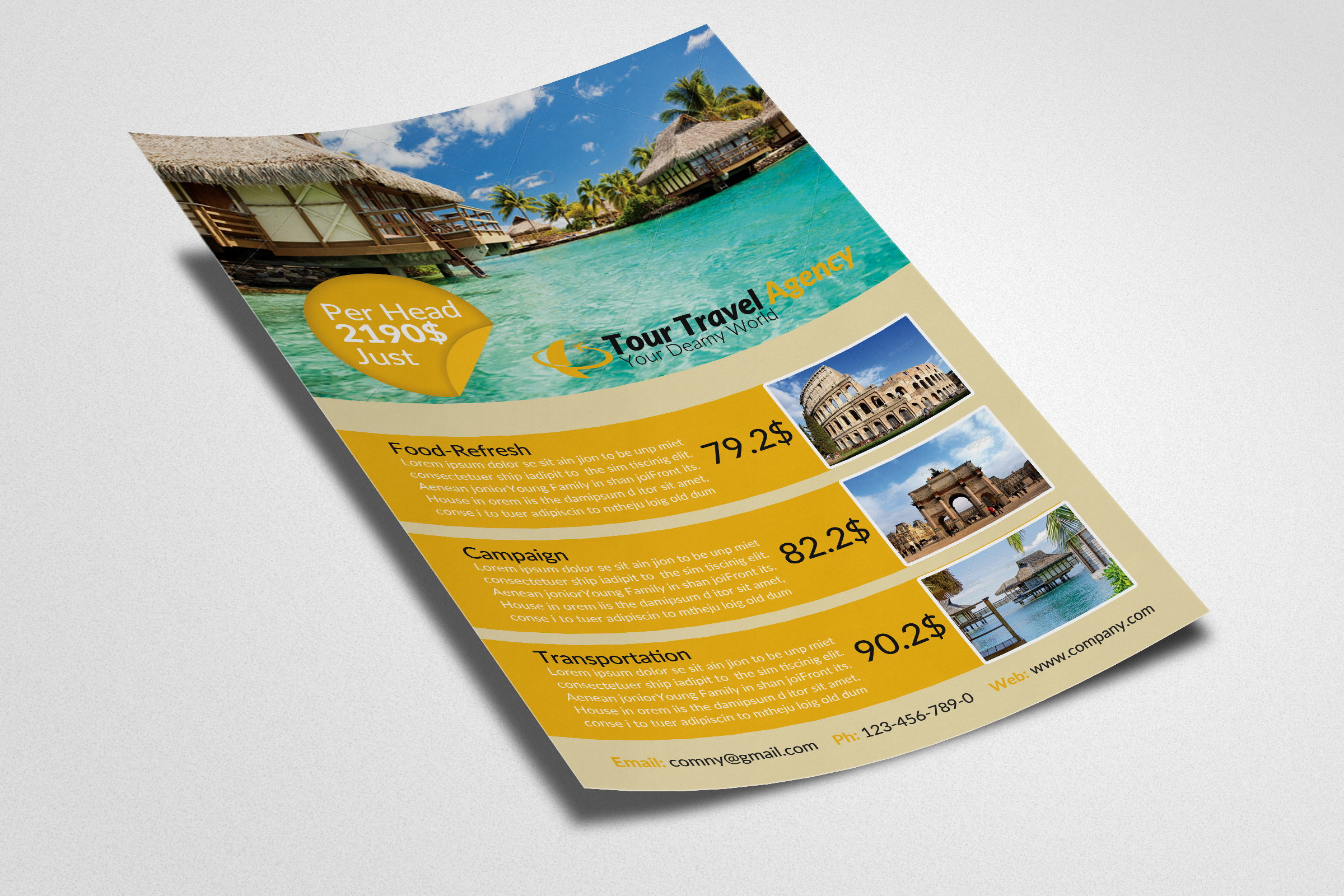 Travel & Tour Flyer example image 2