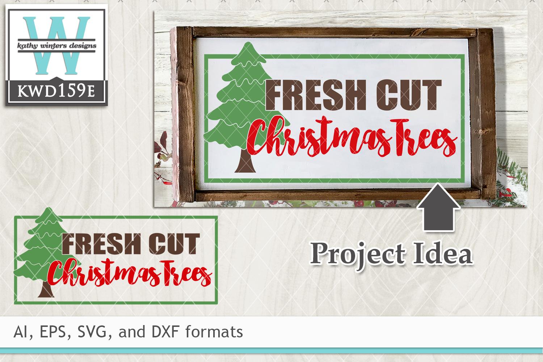 Christmas Svg Fresh Cut Christmas Tree 8993 Svgs Design Bundles
