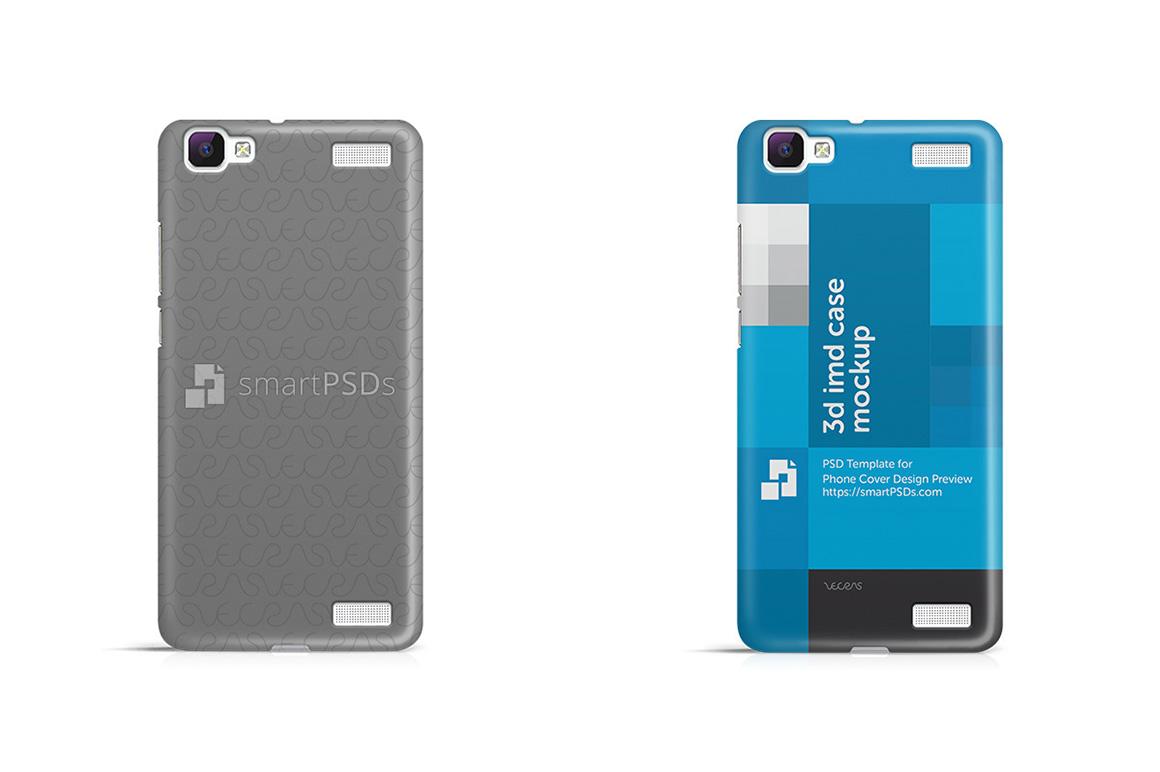 Vivo V1 Max 3d IMD Mobile Case Design Mockup 2015 example image 1