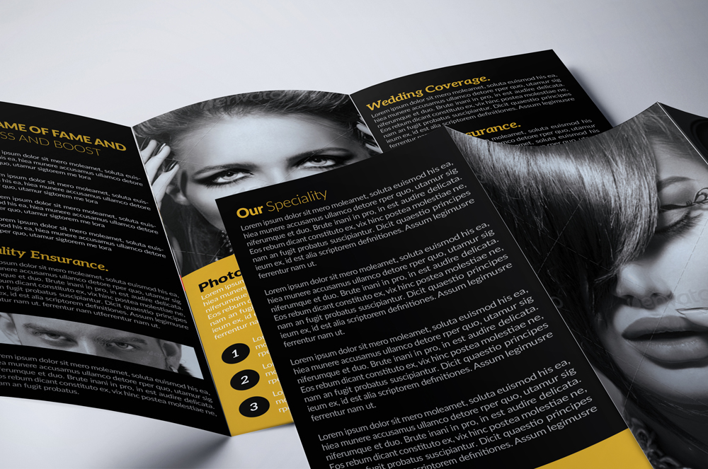 Photography  3-Fold Brochure  example image 4