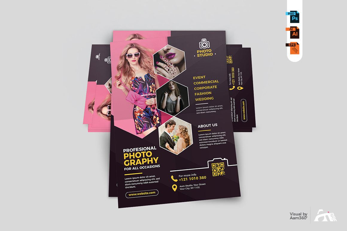 Photography Flyer Template example image 4