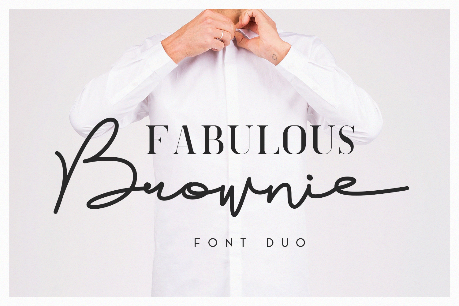 Brownie Font Duo example image 1