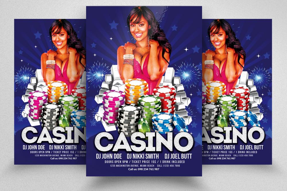 10 Casino Flyers Bundle example image 6