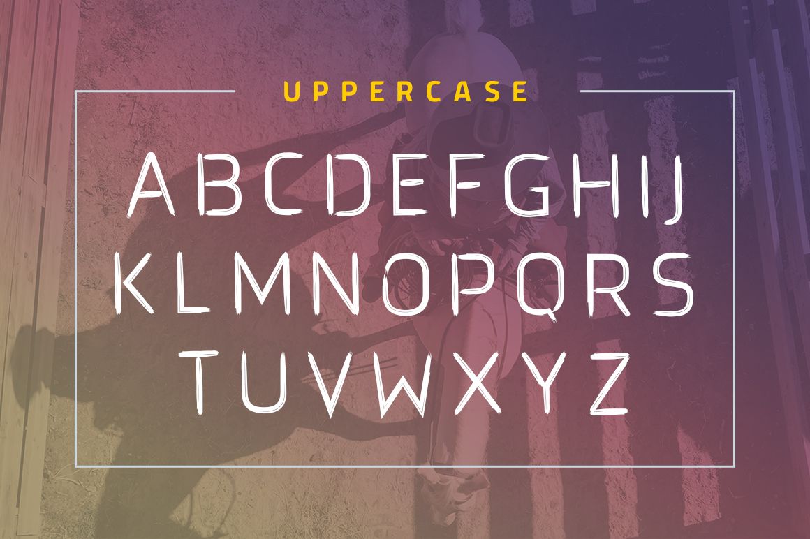 Brushtype Od Display Font example image 5