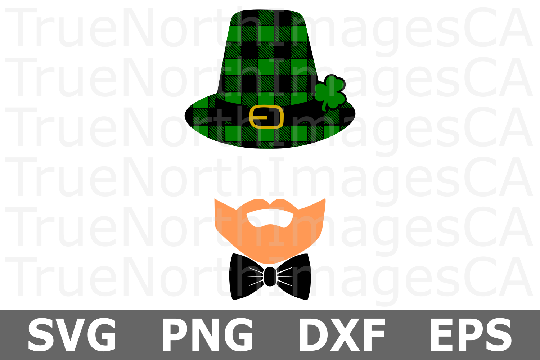 Leprechaun Monogram - St Patricks Day SVG Cut File example image 2