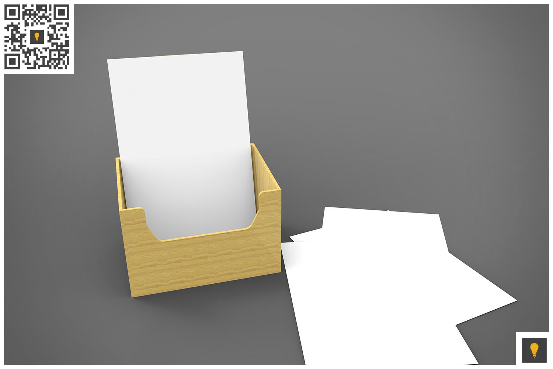 Flyer Holder 3D Render example image 9