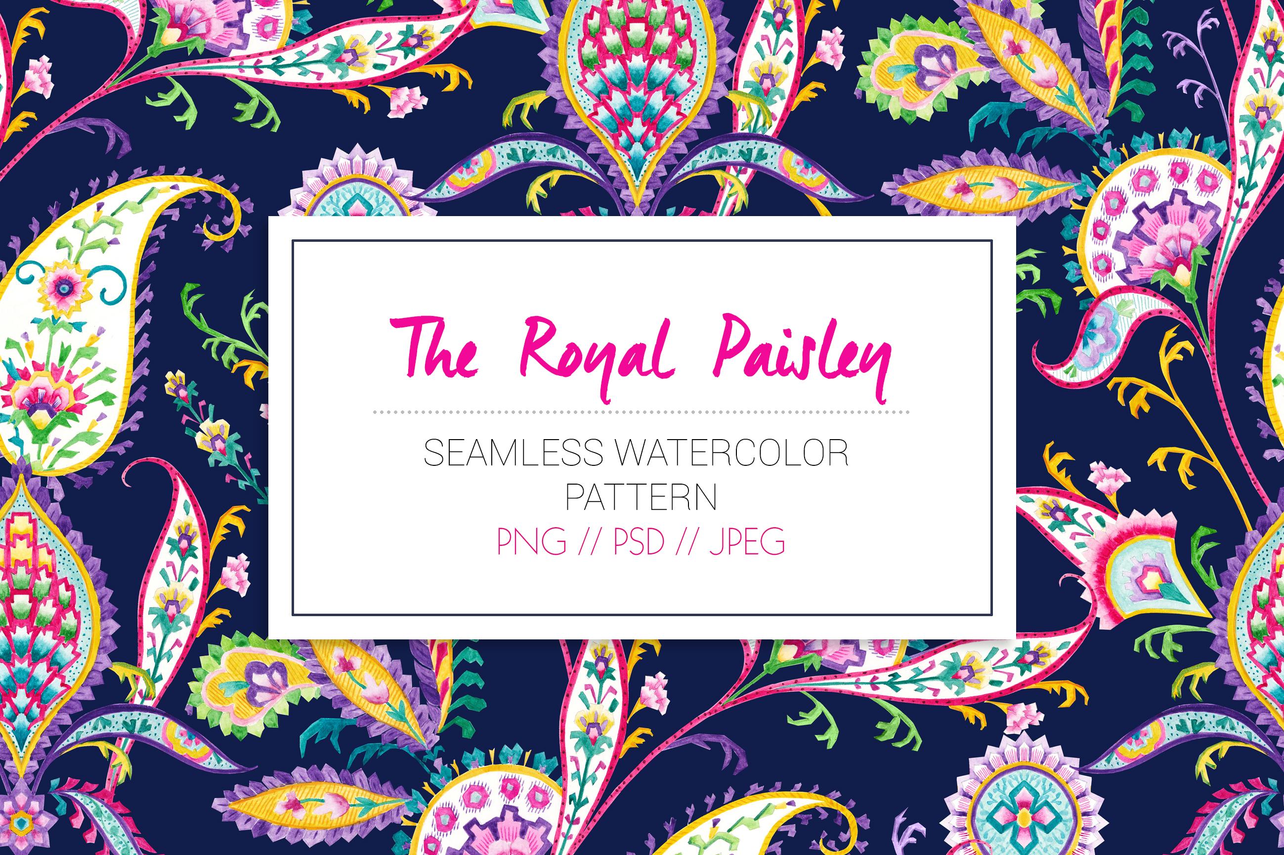Royal Paisley example image 5