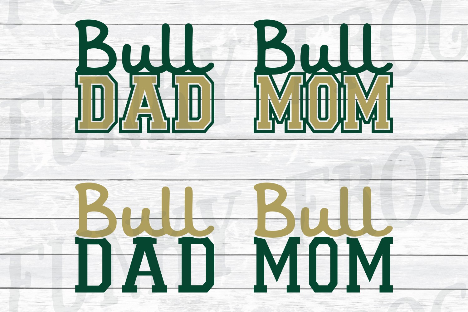 Florida Universities Mom and Dad SVG Cut File Bundle for Cra example image 4