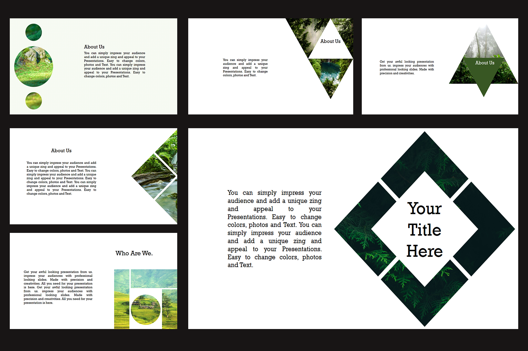 Nature PowerPoint Presentations example image 2