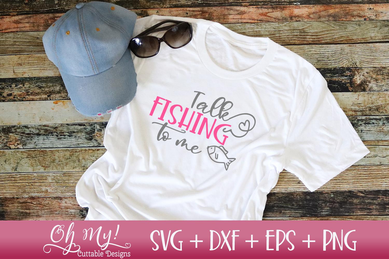 Girls Gone Fishing Bundle - 8 Files - SVG DXF EPS PNG Cuttin example image 9