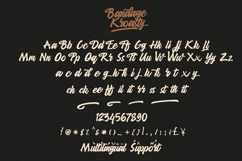Bandage Kroasty example image 10