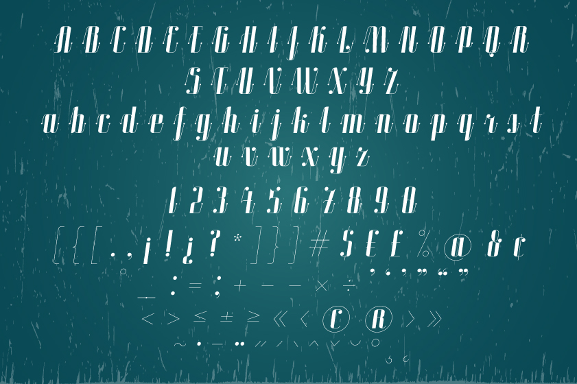 ROADSTER typeface example image 17