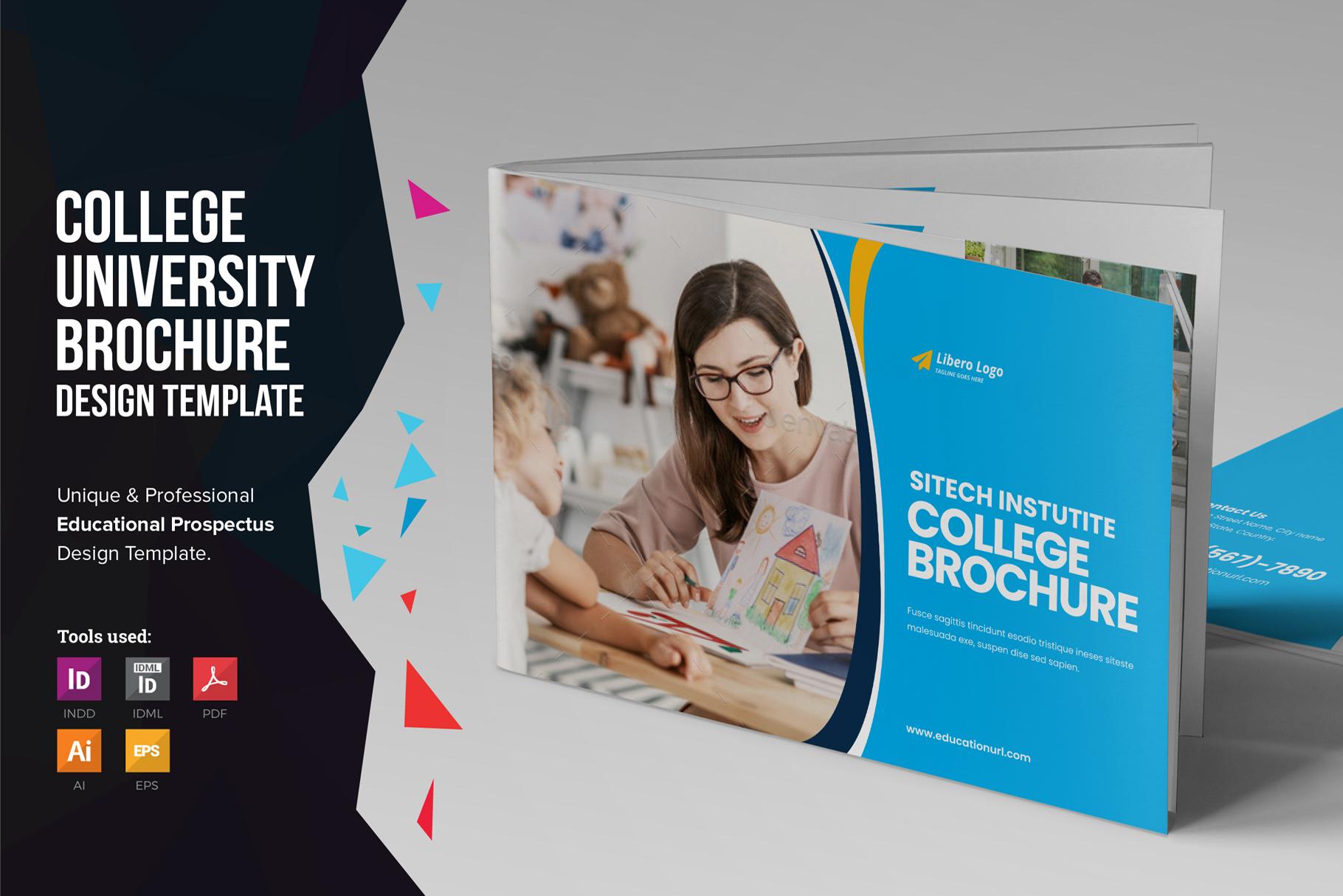 Education Prospectus Brochure v9 example image 1