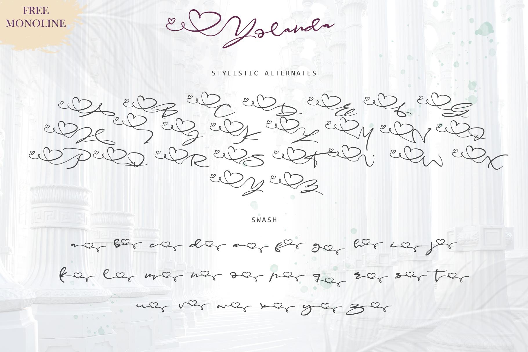 Yolanda Love Script example image 6