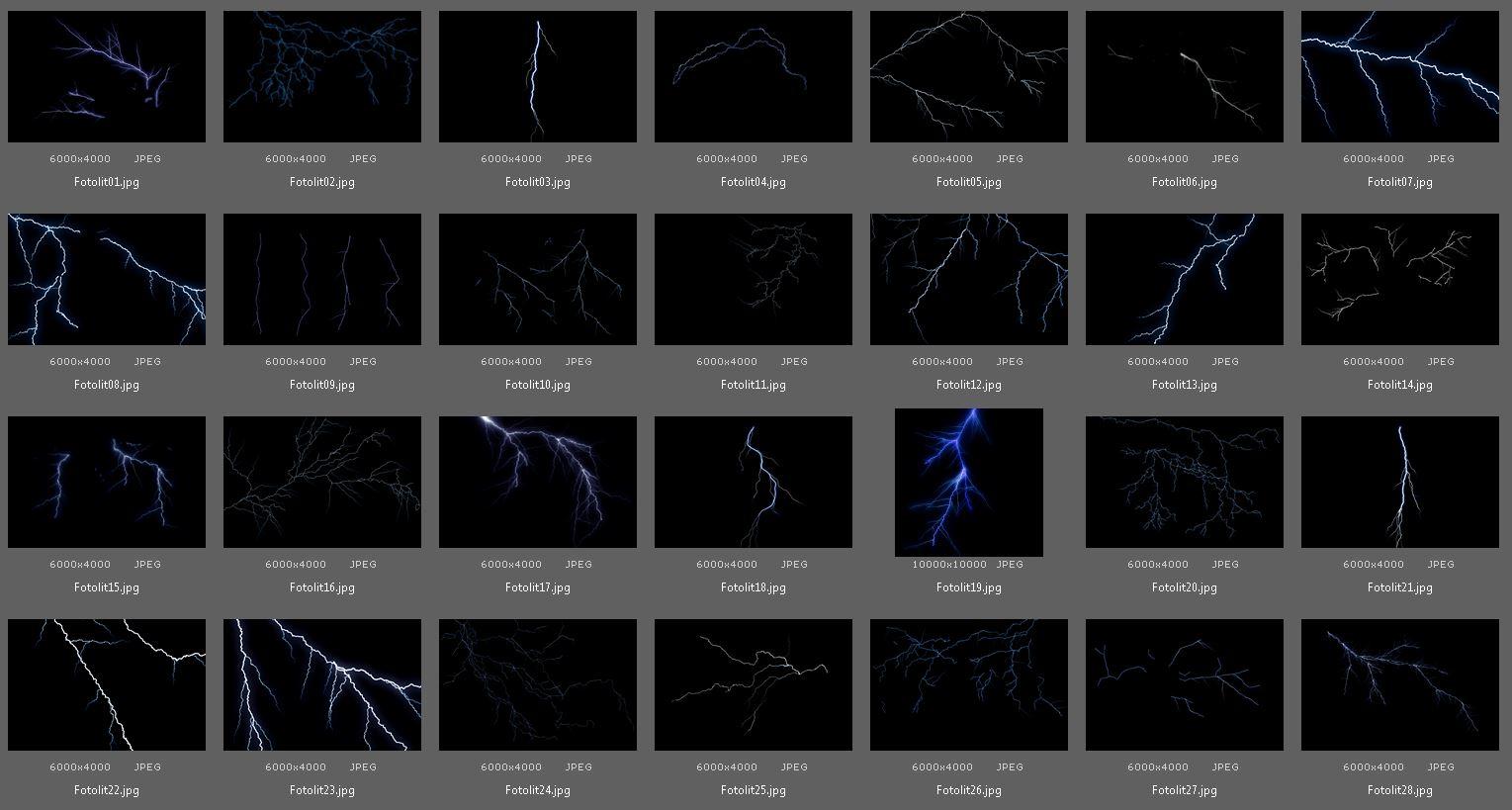 50 Lightning Photo Overlays example image 4