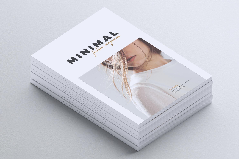 MINIMAL Lookbook Magazines Fashion example image 2