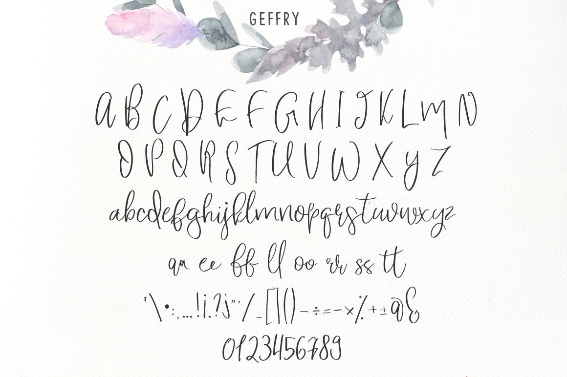 Geffry Script example image 4