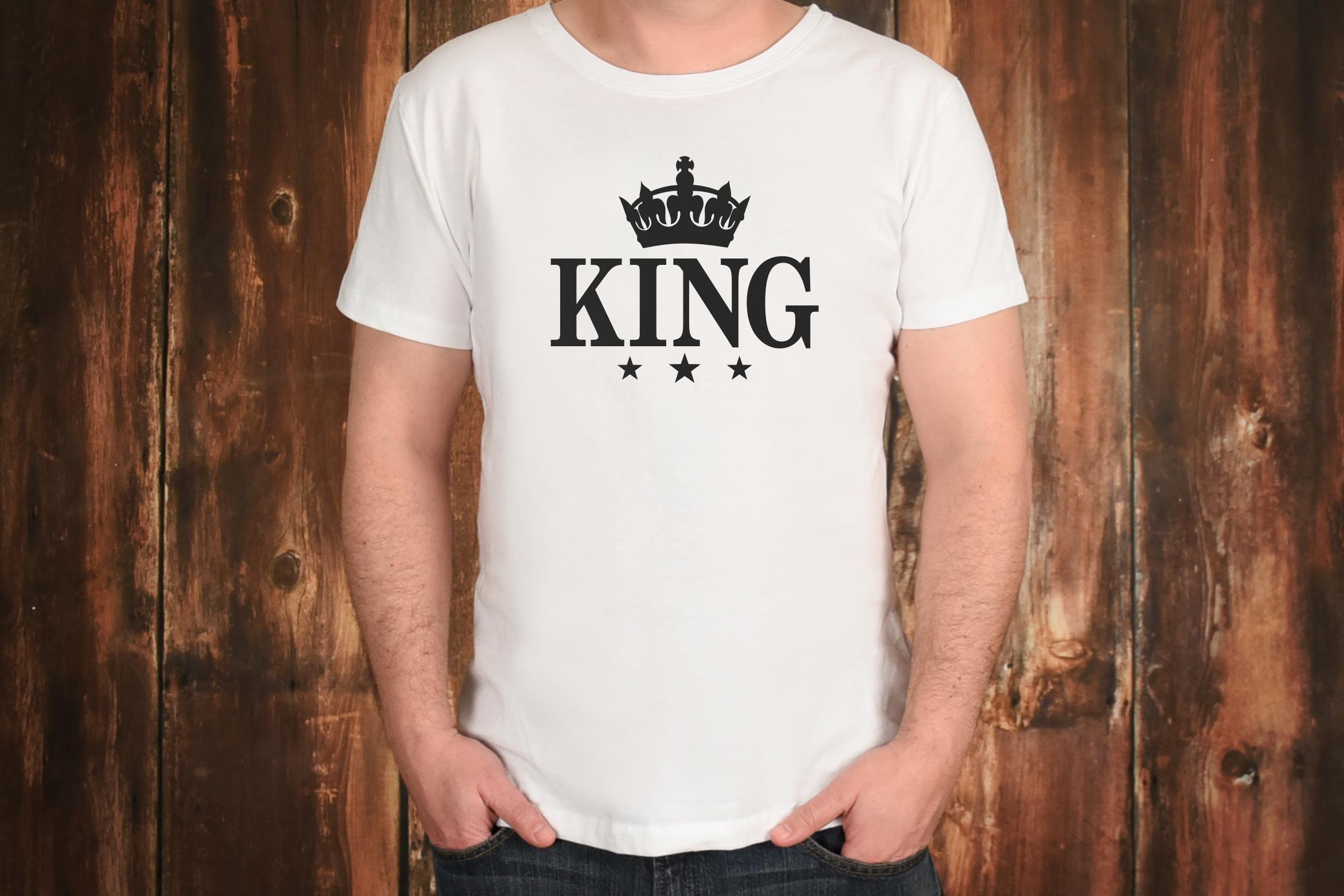 King Svg, Queen Svg, Crown Svg, King Clip Art, Svg File example image 2