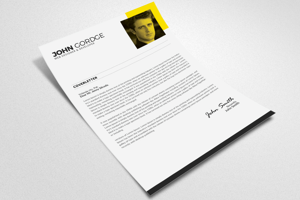 Clean Cv Resume Templates example image 2