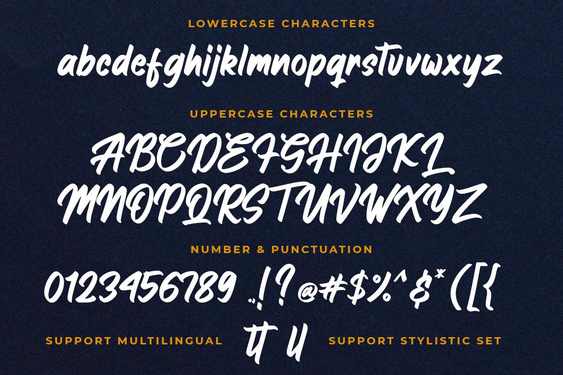 Hanglatter - Modern Calligraphy example image 8