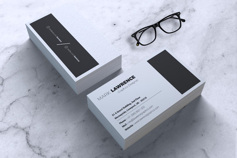 Minimalist Business Card Vol. 03 example image 3