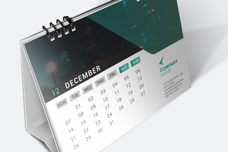 Desk Calendar 2020 example image 3