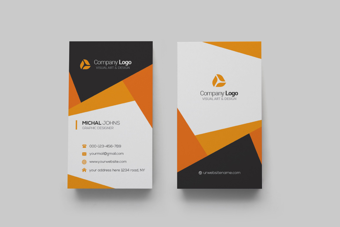 Realistic Business Card Mockups example image 13