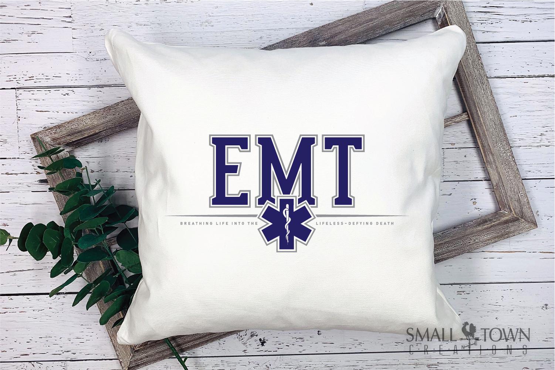 EMT, Emergency Medcial Technician, Logo, PRINT, CUT & DESIGN example image 3