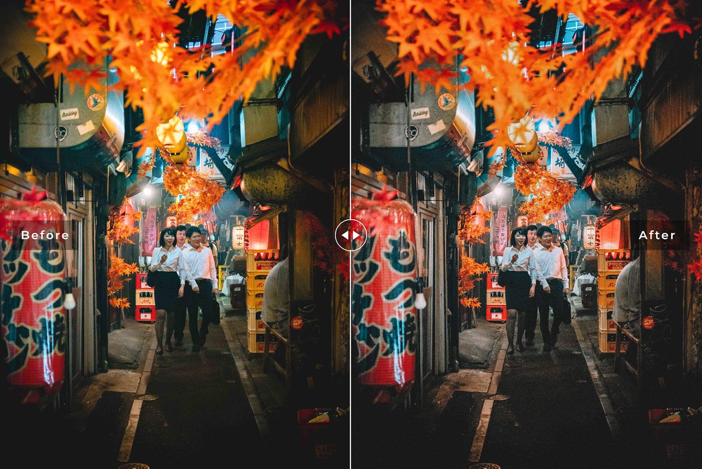 Tokyo Mobile & Desktop Lightroom Presets example image 3