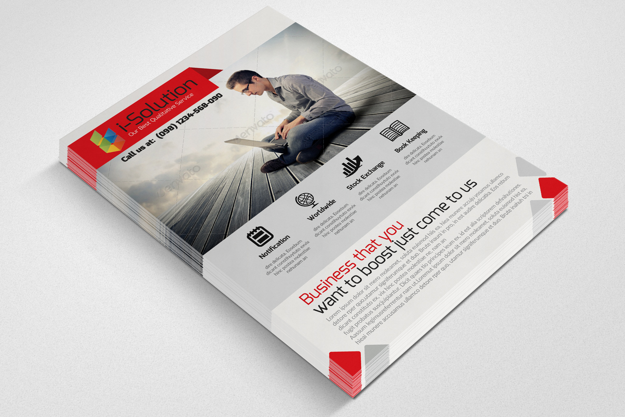 Business Insurance Agency Flyer example image 2