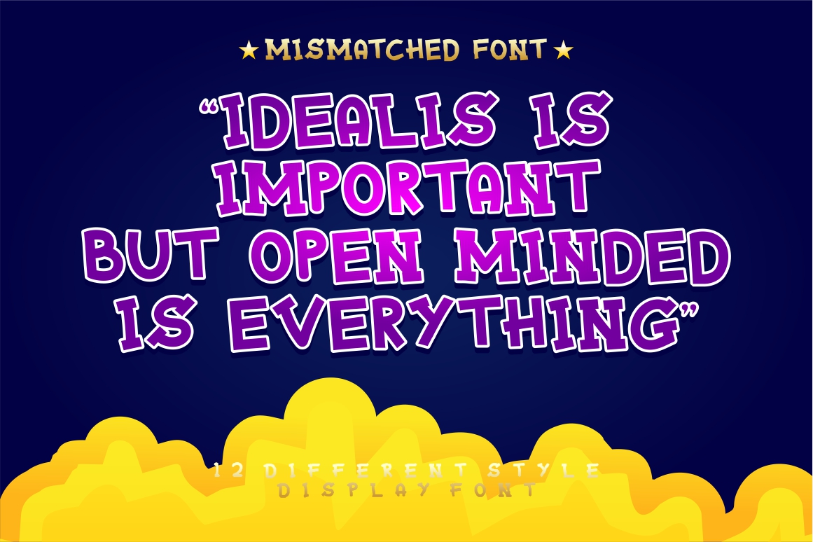 Mixy Missy - 12 Style Display Font example image 15