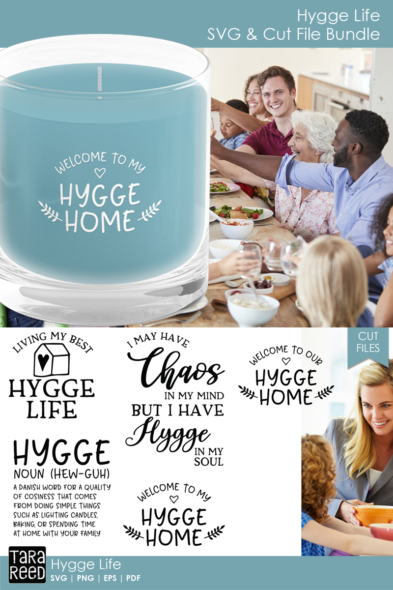 Hygge SVG and Cut Files for Crafters example image 3