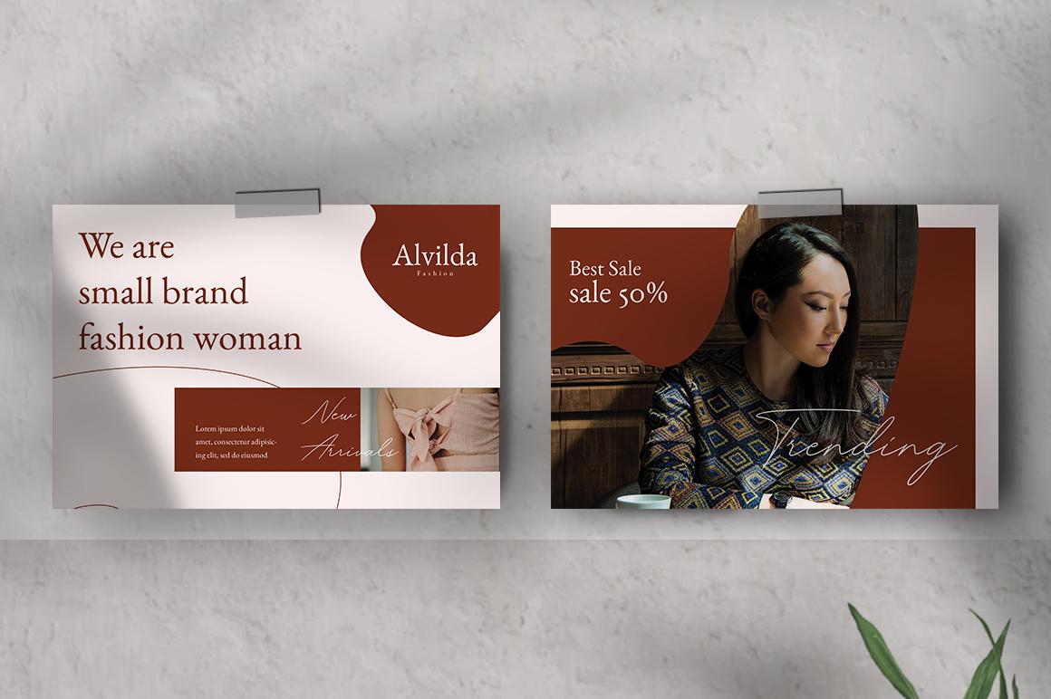 Alvida Postcard Templates example image 3