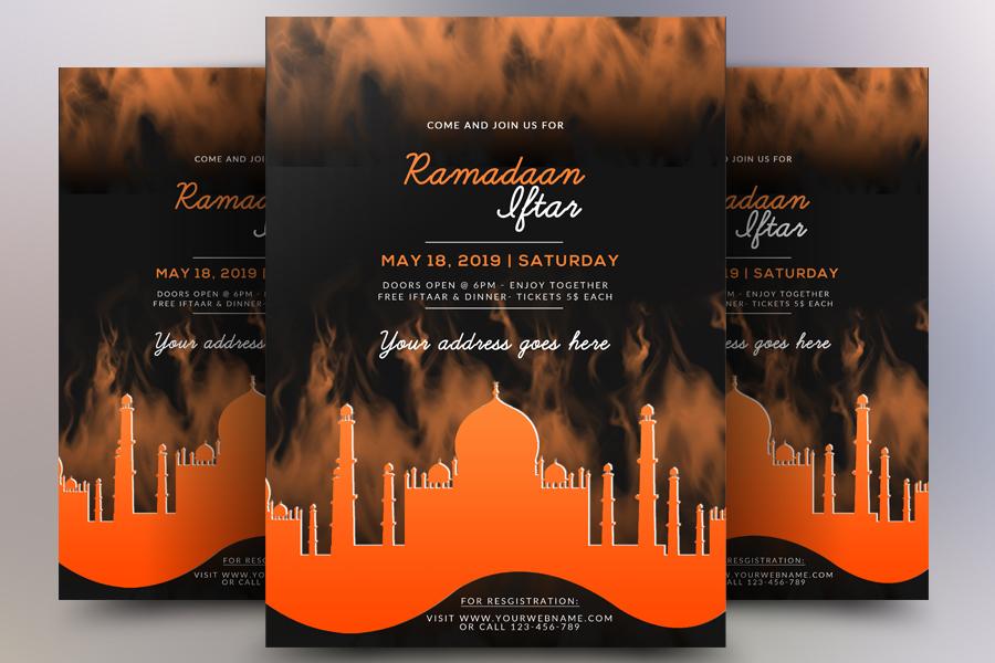 Ramdan Iftar Flyer example image 1