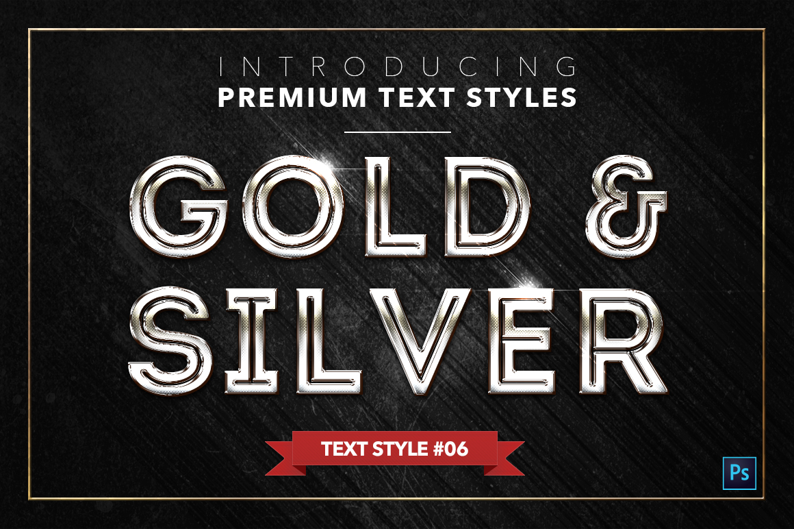 Gold & Silver #2 - 20 Text Styles example image 18
