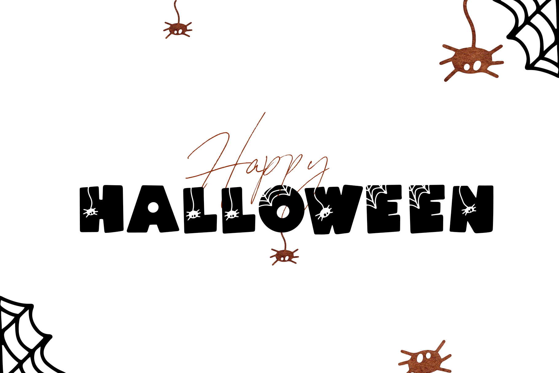 Spooky - A Quirky Halloween Font example image 11