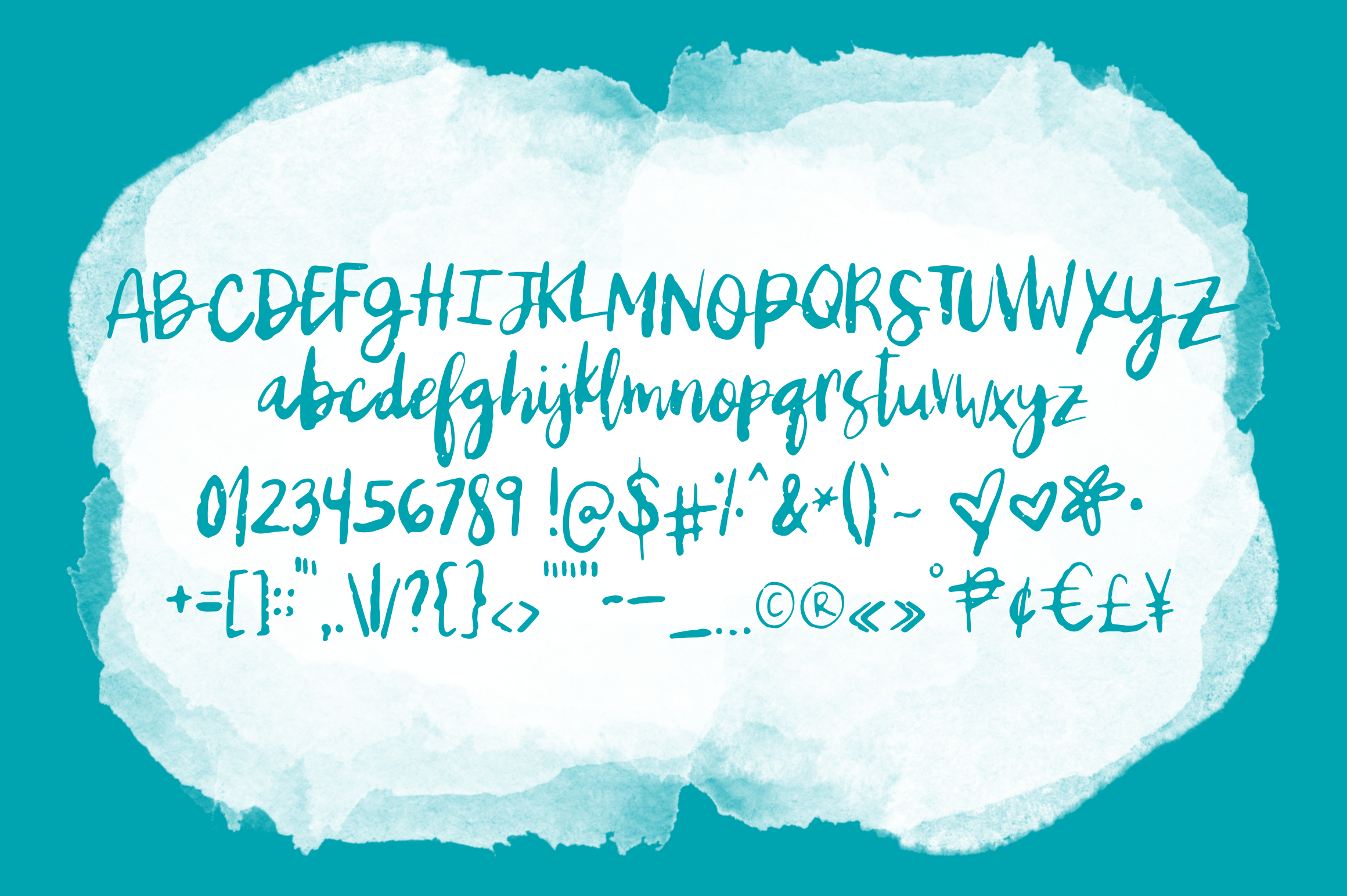 Underground - A Brush Script Doused with Acid example image 2