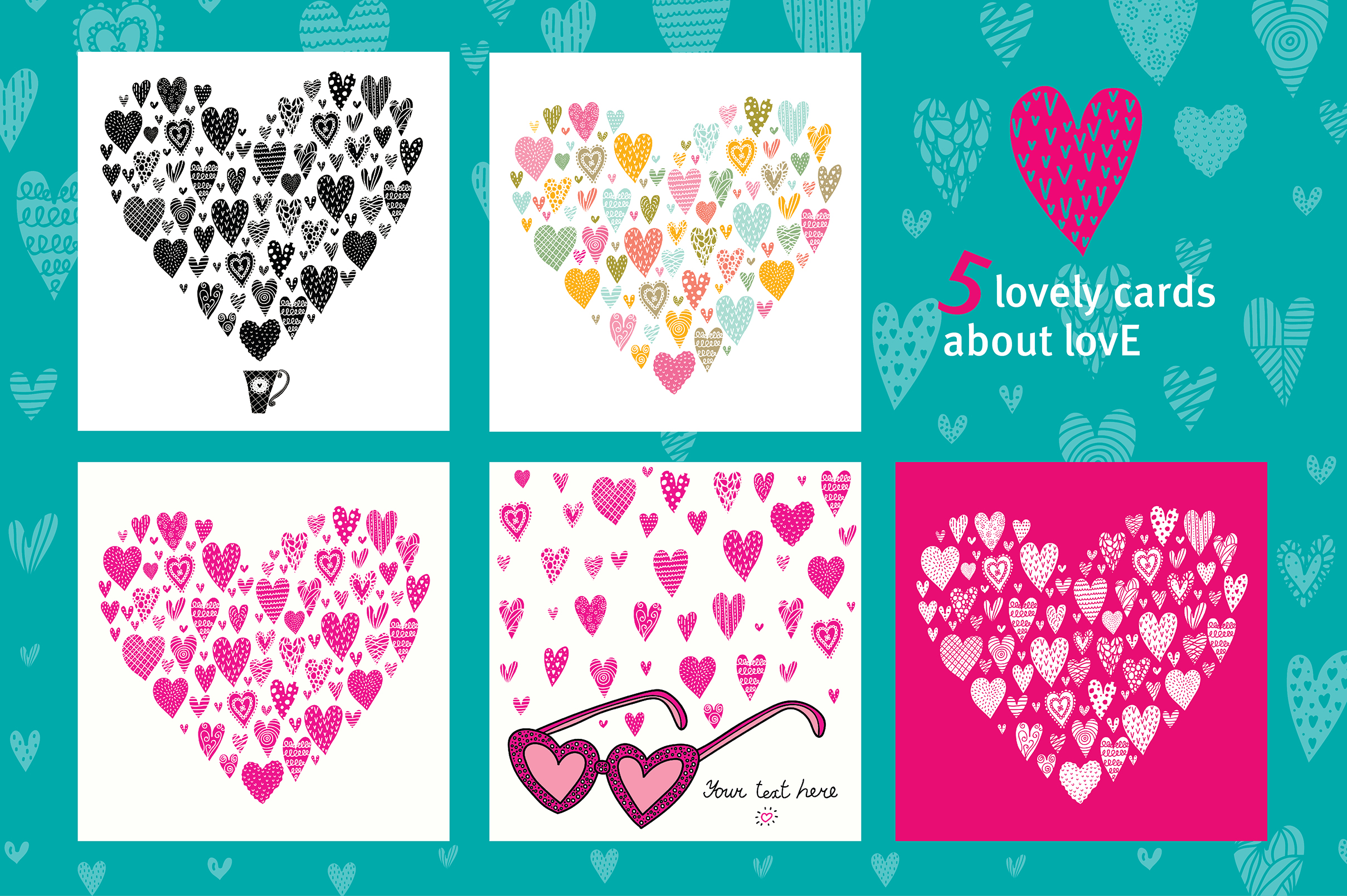 Love and hearts. example image 3