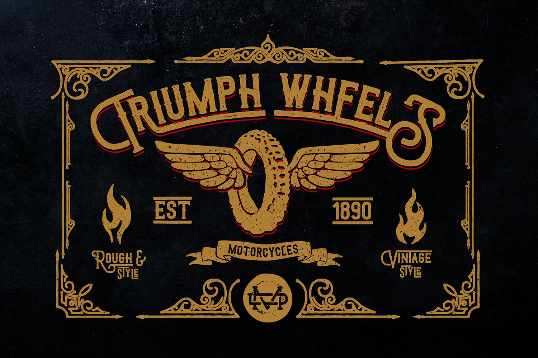 Triumph Wheels + Bonus example image 1
