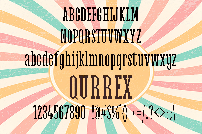 Qurrex Font example image 2