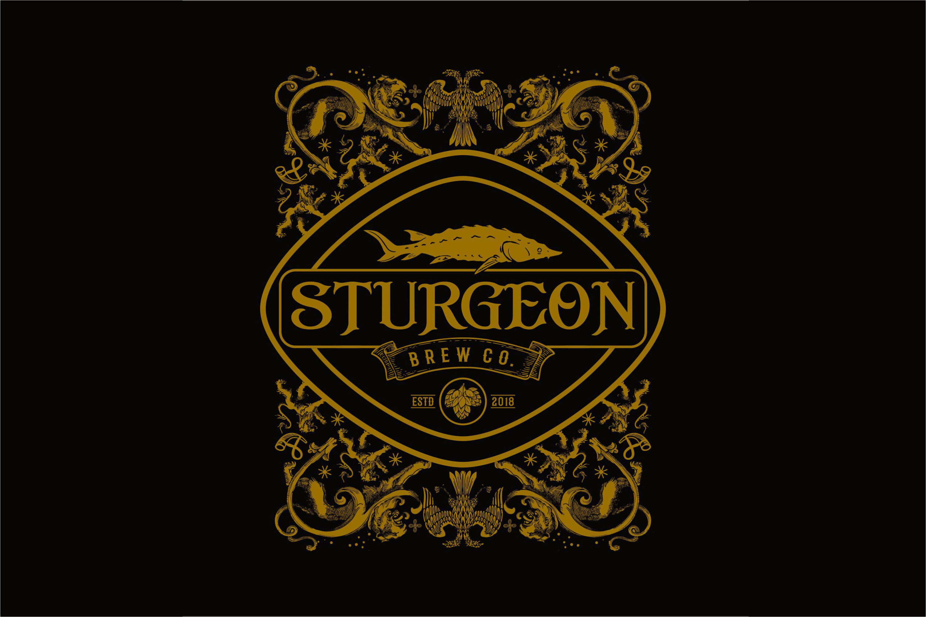Sturgeon Vintage Logo Pack example image 3