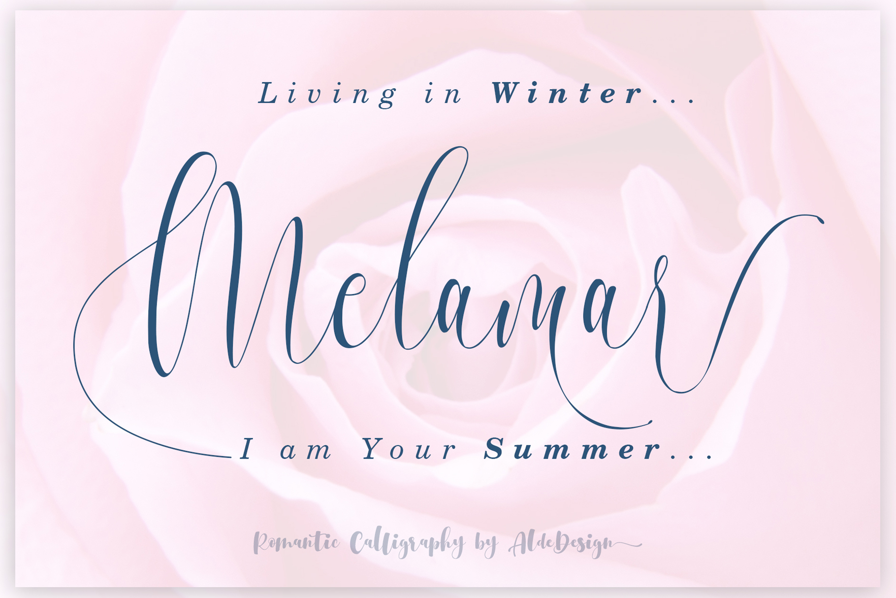 Melamar Calligraphy example image 1
