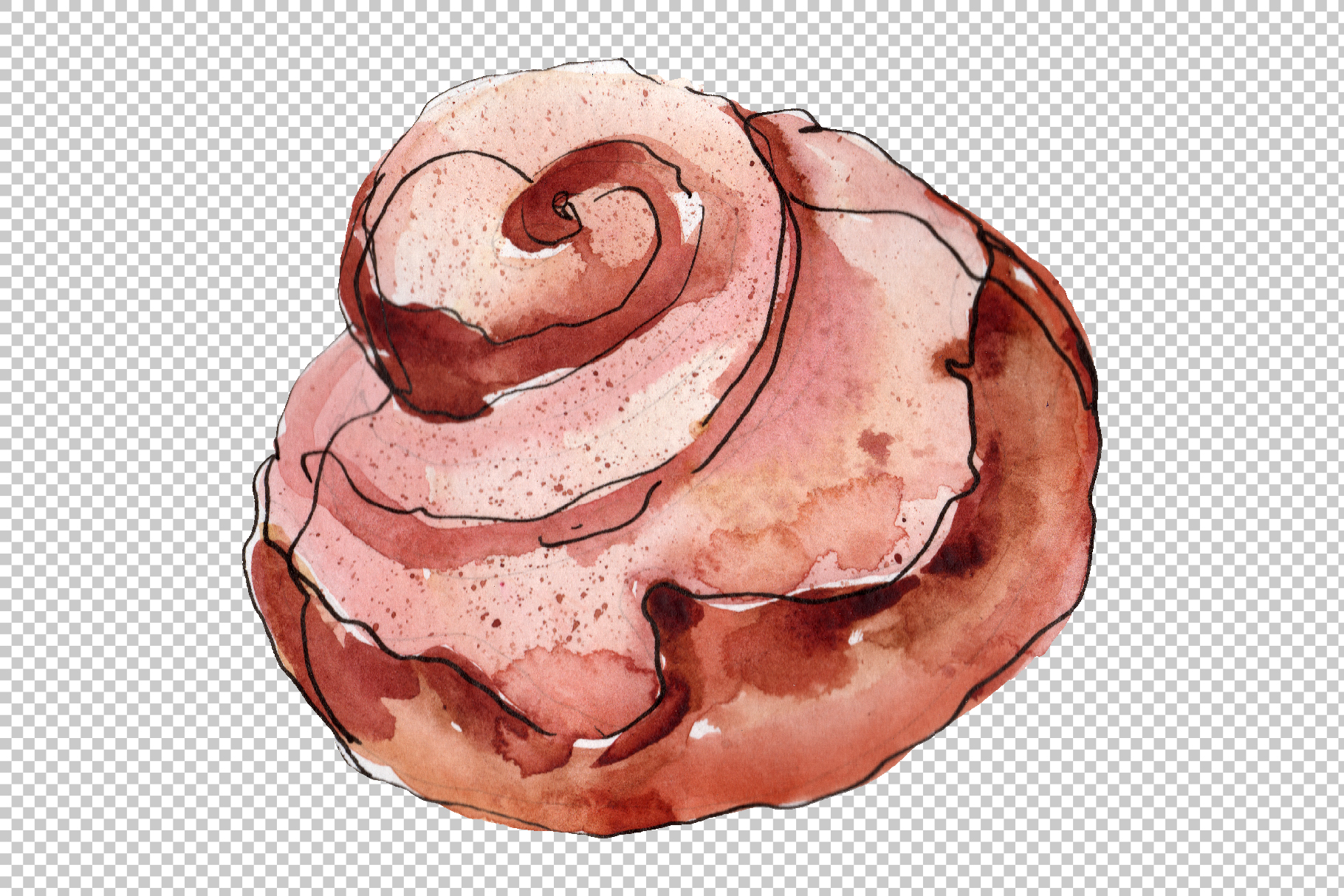 Desert around the world Watercolor png example image 2