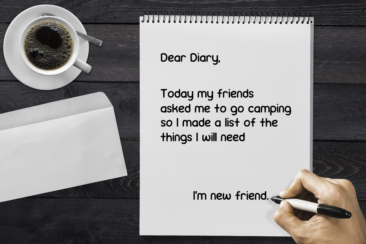 Lady Diary Font example image 3