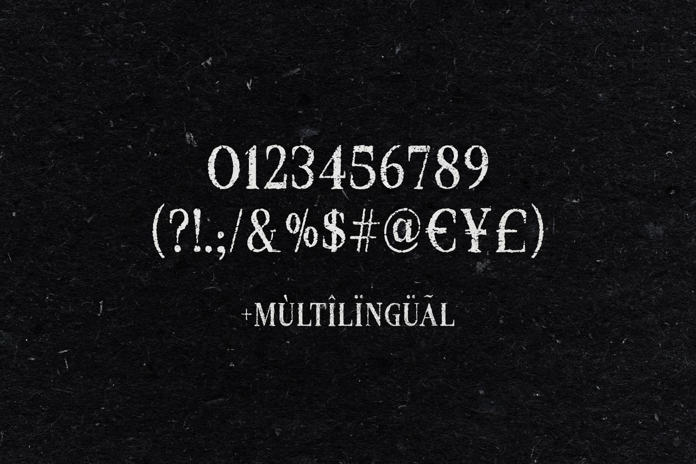 Croak Typeface example image 3